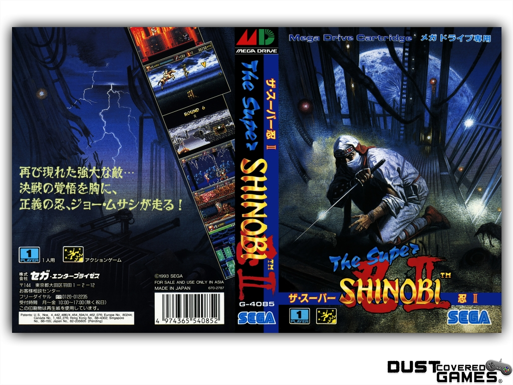 Shinobi-III-Return-of-the-Ninja-Master-GEN-Genesis-Game-Case-Box-Cover-New-Pro thumbnail 13