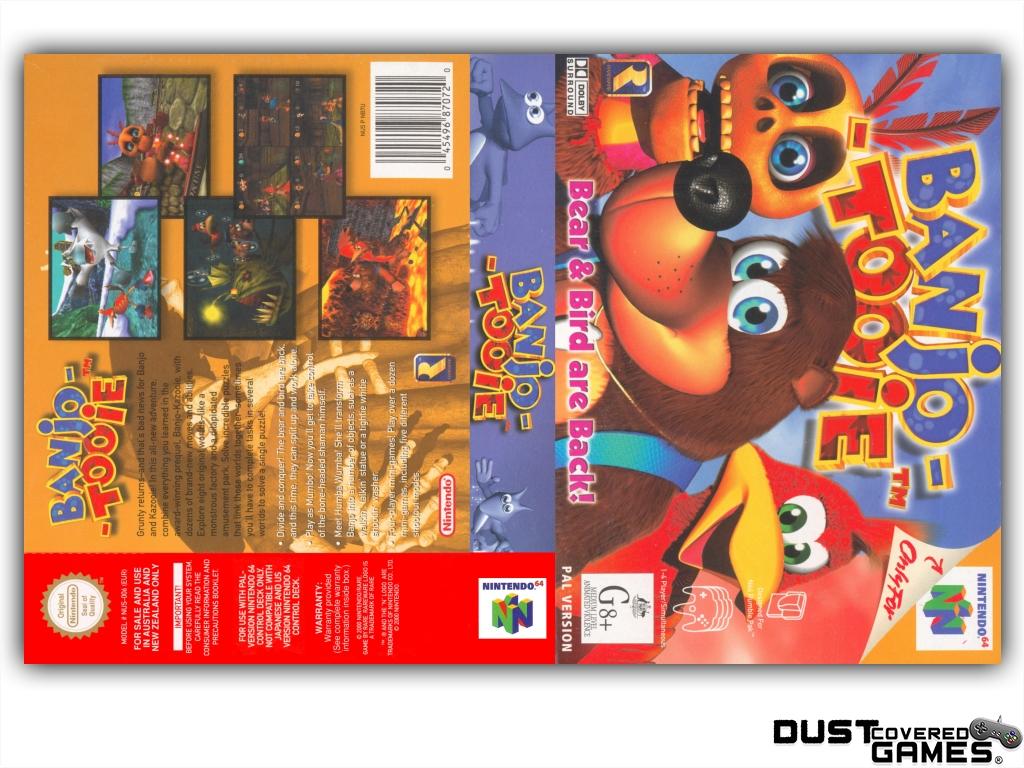 Banjo-Tooie-N64-Nintendo-64-Game-Case-Box-Cover-Brand-New-Professional-Quality miniatuur 17