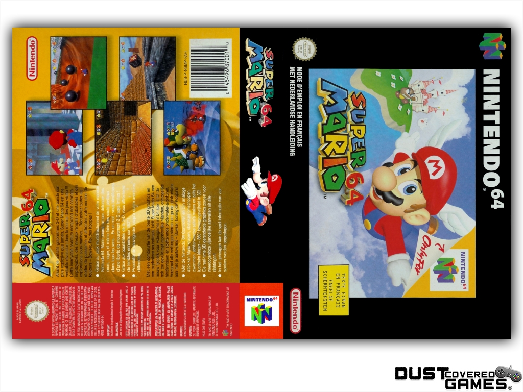 thumbnail 29 - Super-Mario-64-N64-Nintendo-64-Game-Case-Box-Cover-Brand-New-Pro-Quality
