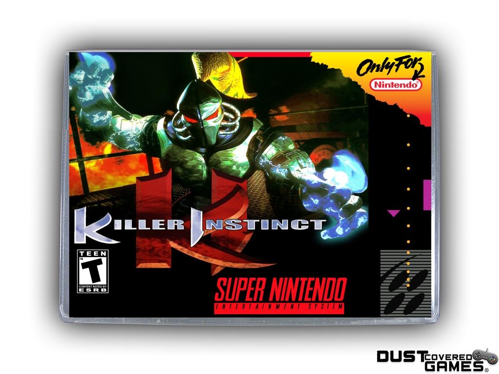 Killer Instinct Snes Super Nintendo Game Case Box Cover Brand New Pro Quality Ebay