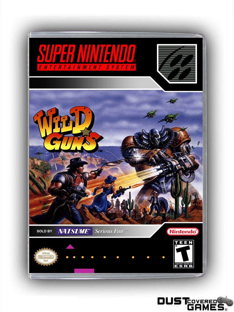 Details about Wild Guns SNES Super Nintendo Game Case Box Cover Brand New  Professional Quality