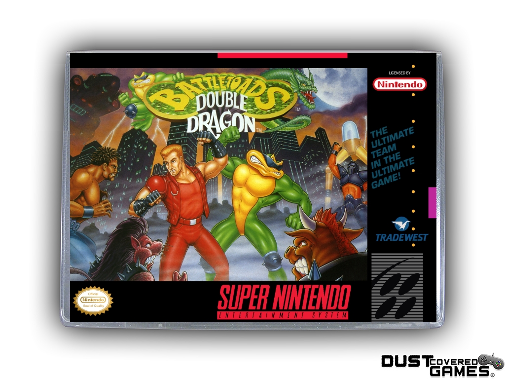 Battletoads Double Dragon The Ultimate Team Snes Super Nintendo