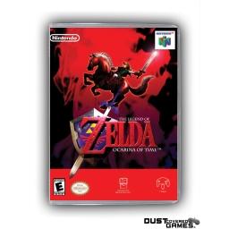 The Legend Of Zelda Ocarina Of Time N64 Nintendo 64 Game Case Box Cover New Pro Ebay
