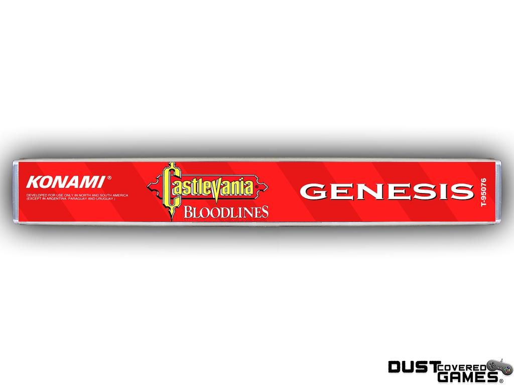 Castlevania-Bloodlines-Castlevania-The-New-Generation-GEN-Genesis-Game-Case thumbnail 15