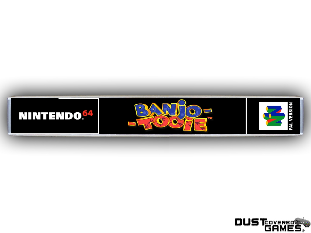 Banjo-Tooie-N64-Nintendo-64-Game-Case-Box-Cover-Brand-New-Professional-Quality miniatuur 11