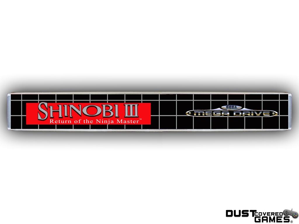 Shinobi-III-Return-of-the-Ninja-Master-GEN-Genesis-Game-Case-Box-Cover-New-Pro thumbnail 7