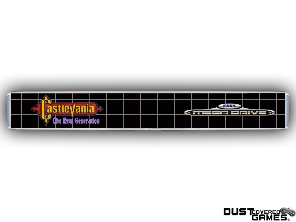 Castlevania-Bloodlines-Castlevania-The-New-Generation-GEN-Genesis-Game-Case thumbnail 23