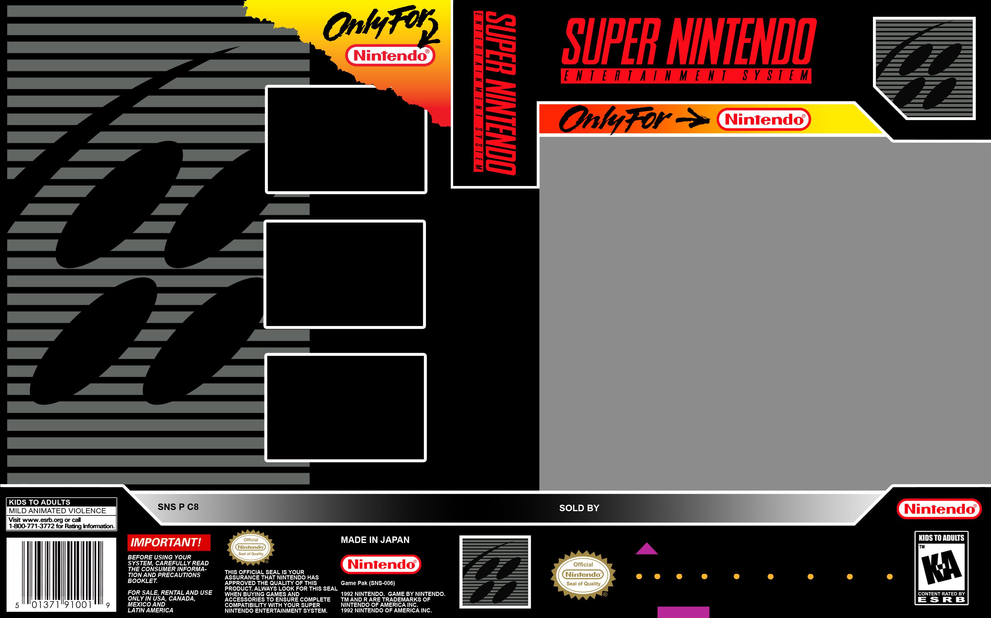 james bond jr  snes super nintendo game case box cover