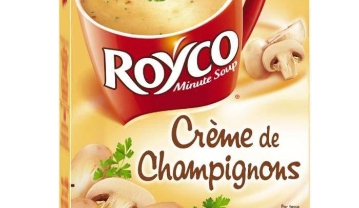 royco minute soup creme de champignons 3 2l frenchly