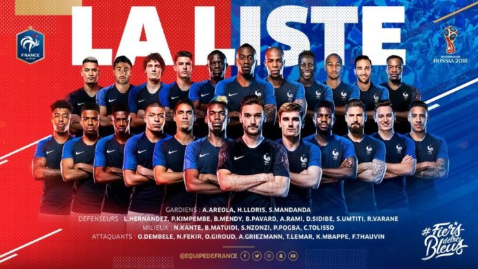 af8871cacec You may be able to name off every single player on France s World Cup team  ...