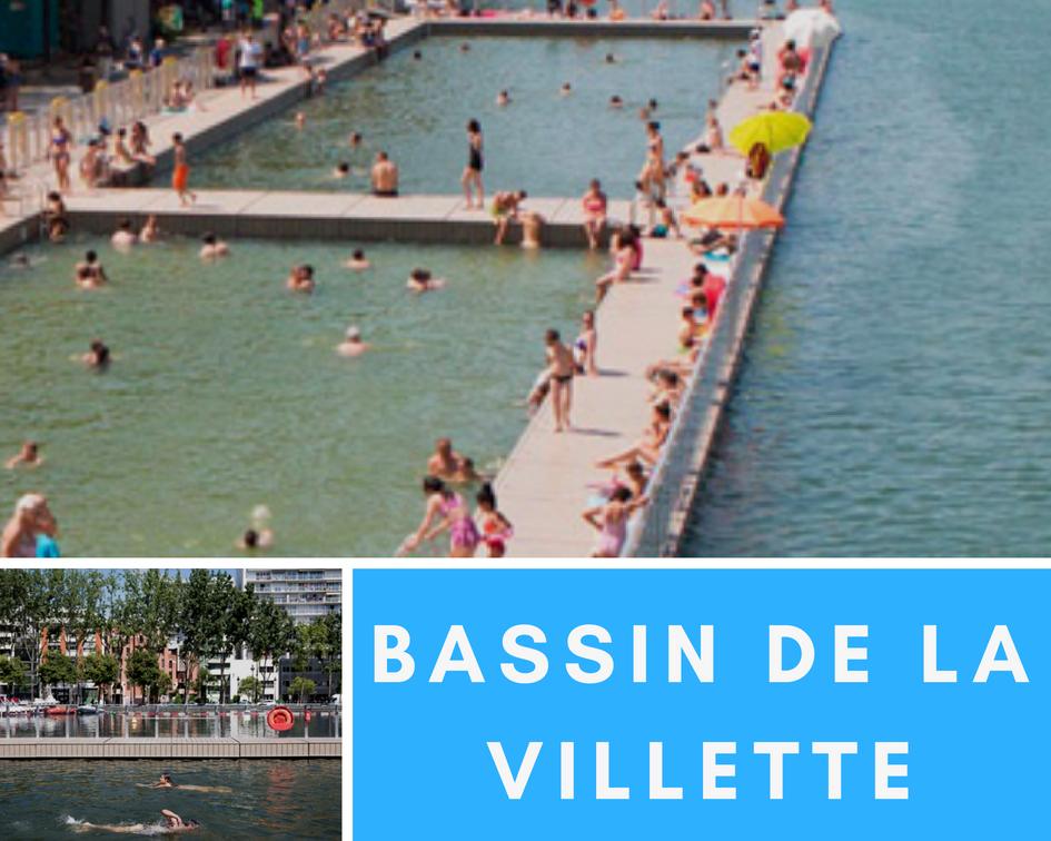 picturesque pools Paris outdoor pools