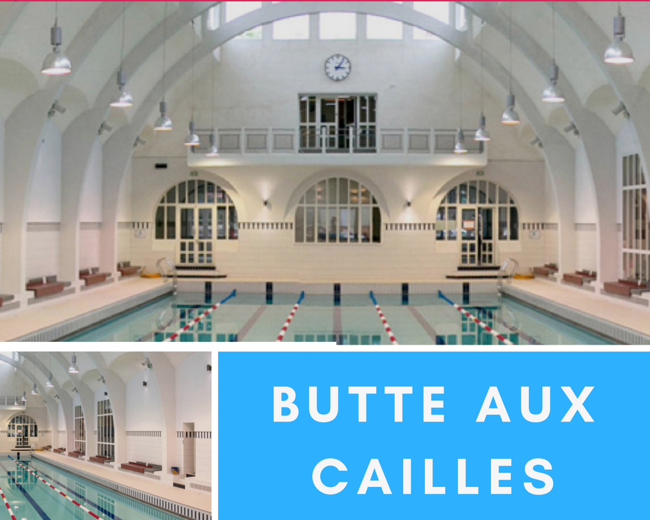 Butte aux Cailles Swimming pool best Paris swimming pools