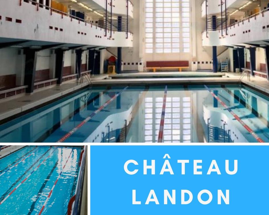 Best Paris Pools chateau landon