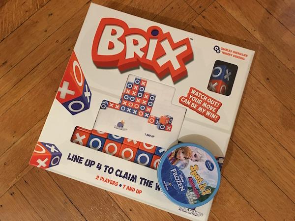 Brix et Spot It, deux jeux Blue Orange