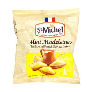 Mini madeleines - St Michel