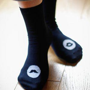 Socks Mr & Ms for her bleu