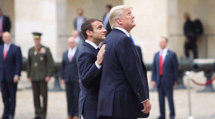 Donald Trump A Lintention Dinviter Emmanuel Macron Pour Une Visite DEtat Qui Aura Lieu Dans Le Courant De Lannee Selon La Chaine Dinformation CNN