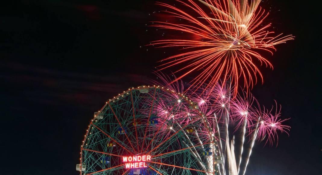Coney Island Friday Night Fireworks Que faire à New York en août 2018