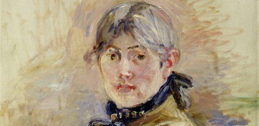 Berthe Morisot, Self-Portrait, 1885, oil on canvas