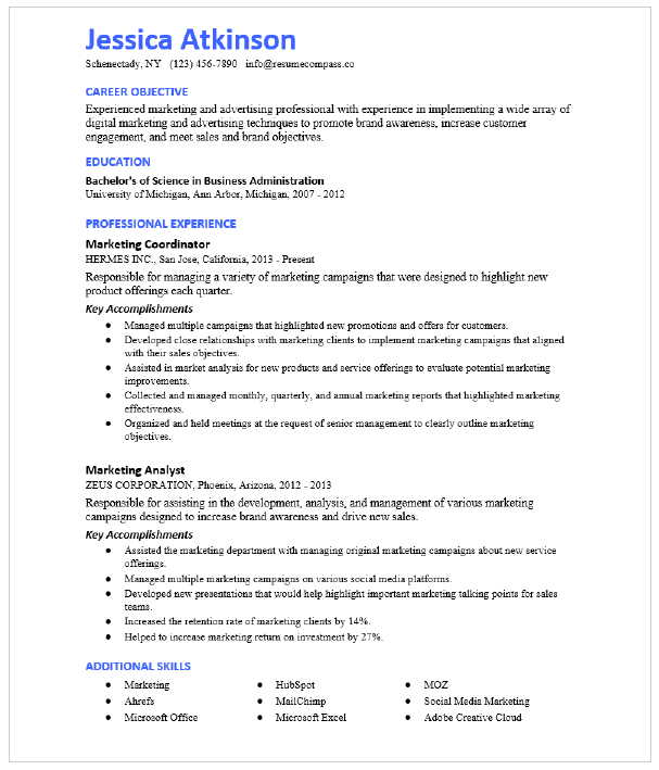 Crm Manager Resume Sample Resumecompass
