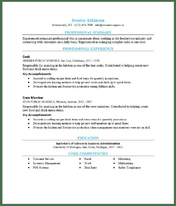 Executive Chef Resume Sample Resumecompass