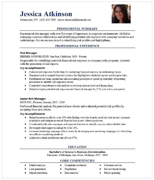 Project Manager Resume Sample Resumecompass