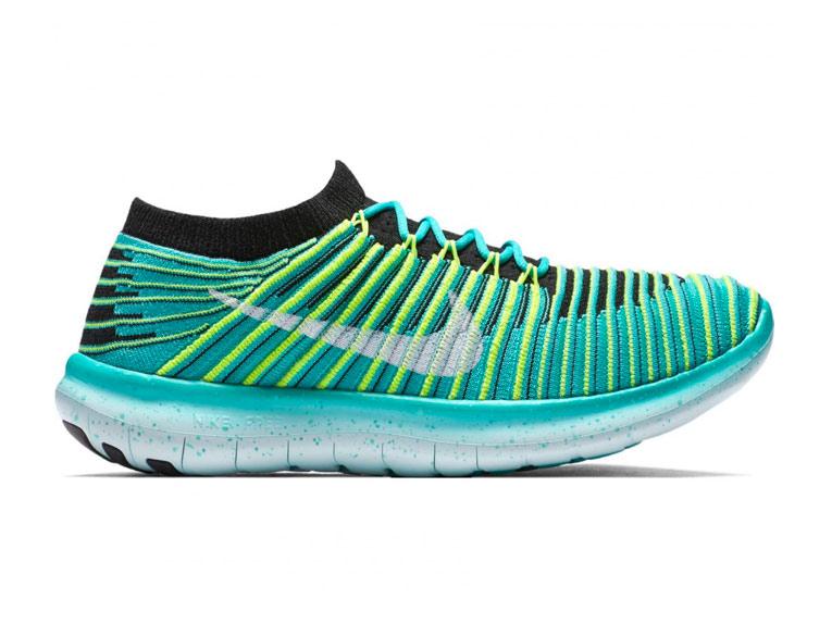 Nike Free Run Motion Flyknit Mujer