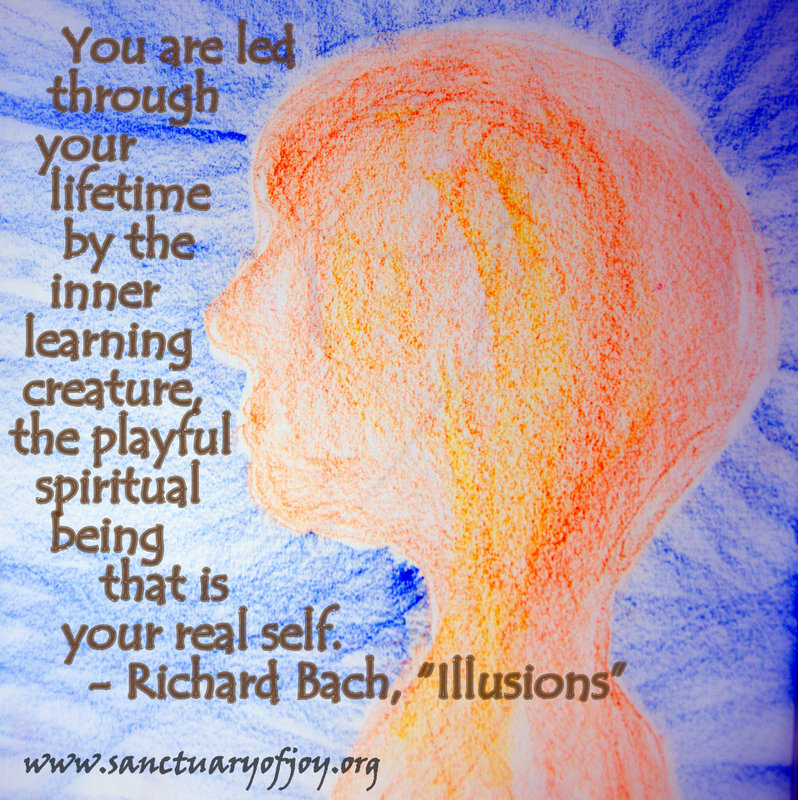 You are led through your lifetime...