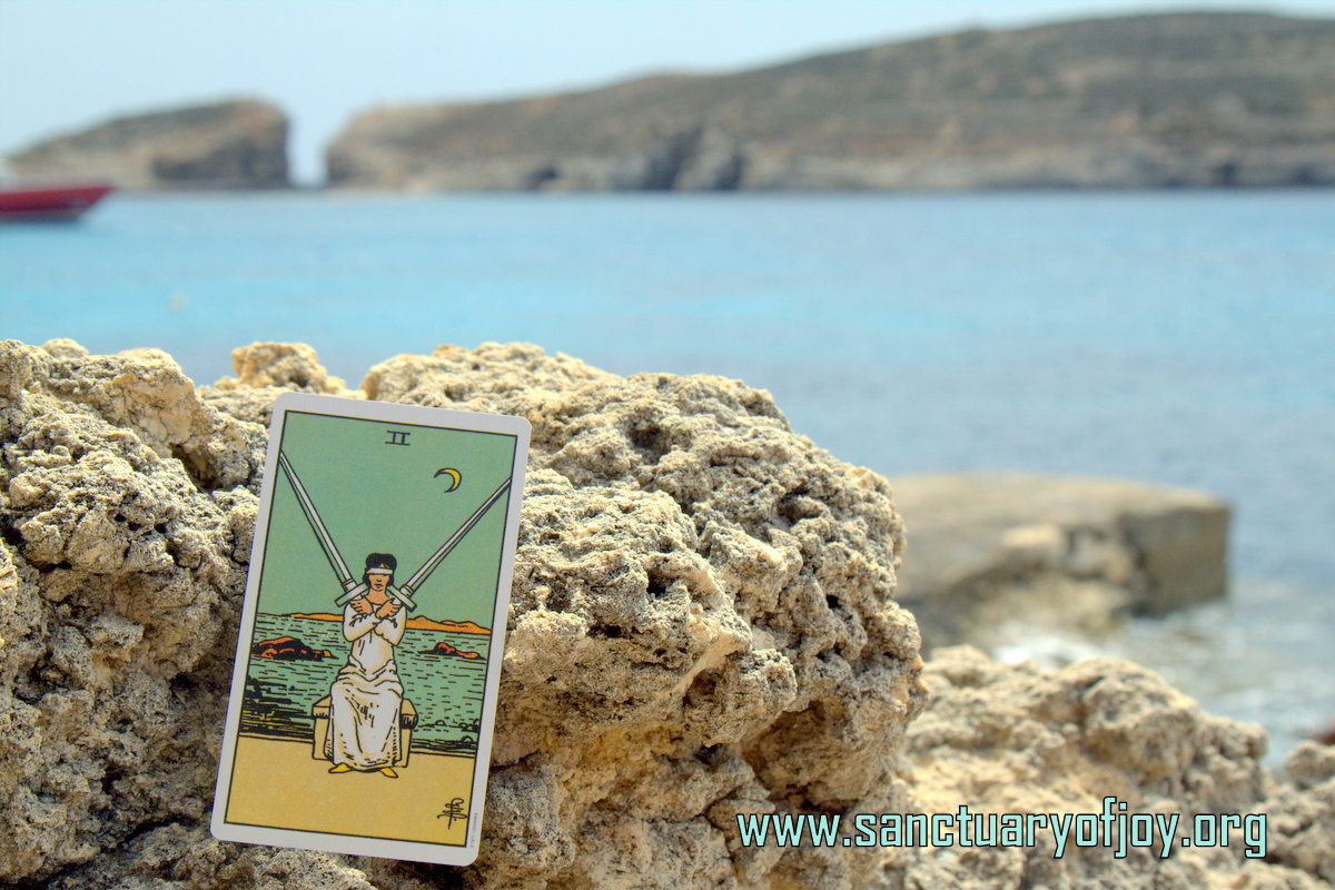 Two of Swords on Comino Island