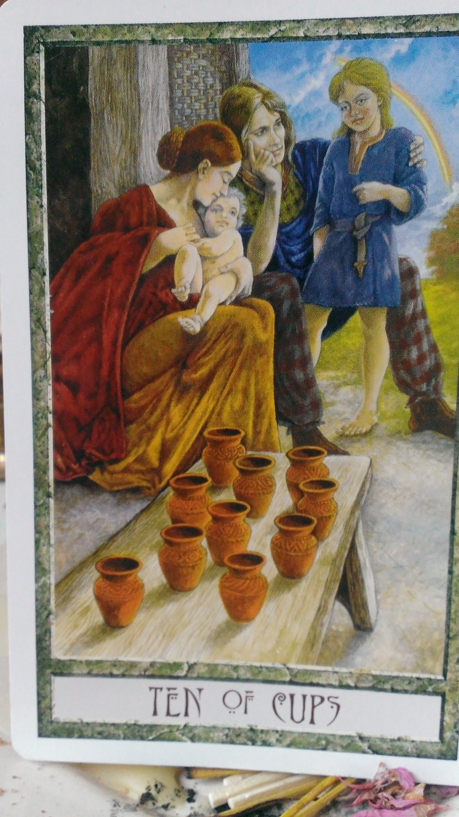 Ten of Cups - DruidCraft Tarot