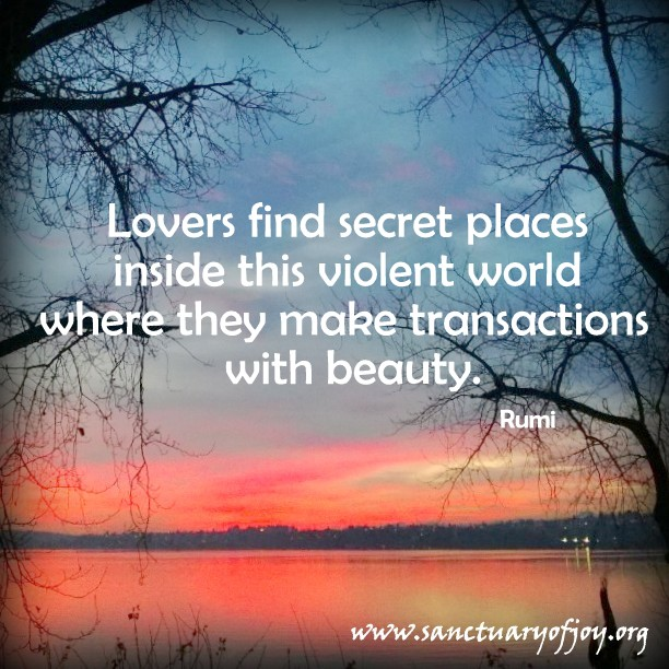 Lovers find secret places inside this violent world where they make transactions with beauty