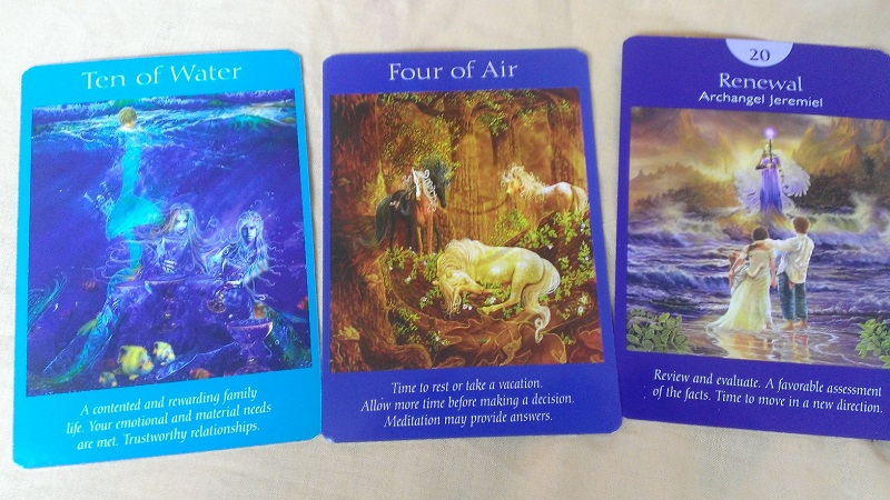 Tarot card reading for June 2016