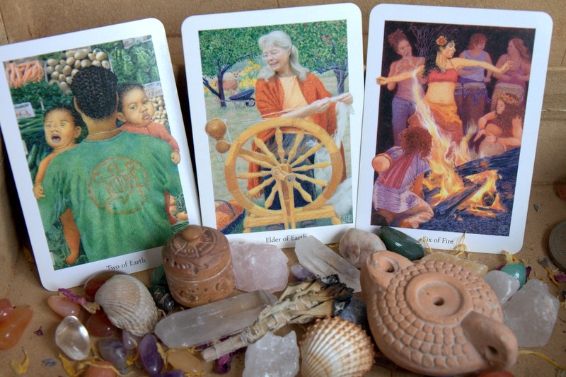 Tarot card reading for July 2016 - Gaian Tarot