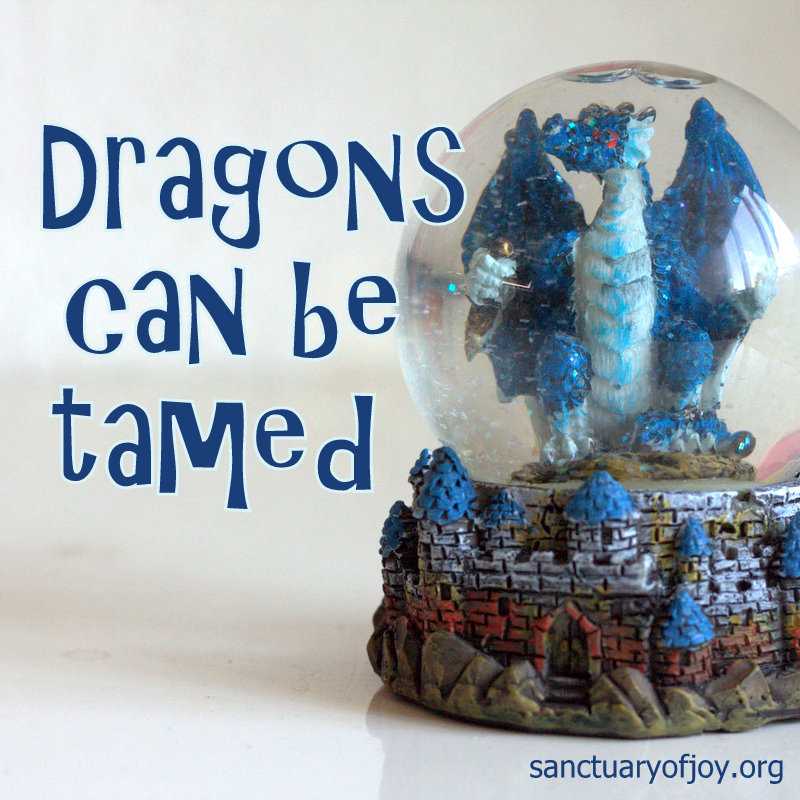 Dragons can be tamed