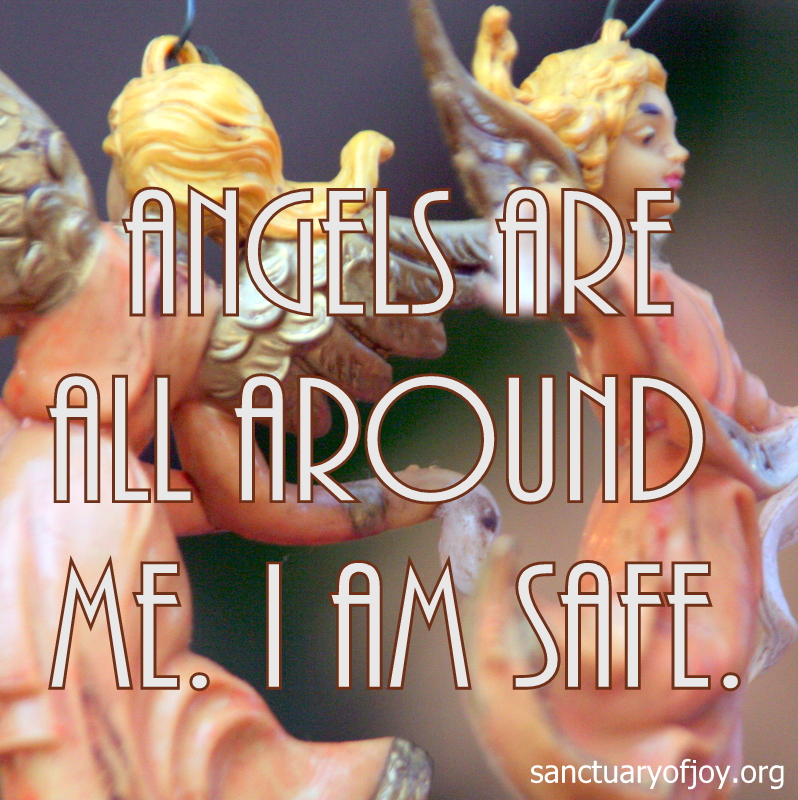 Angels are all around me