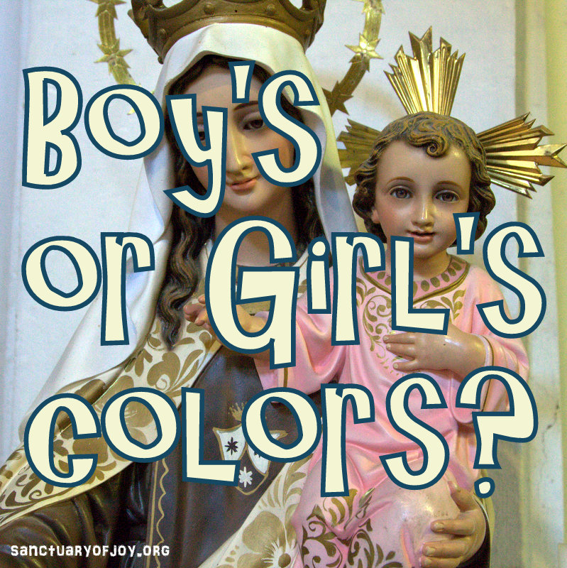 Boy's or Girl's colors?