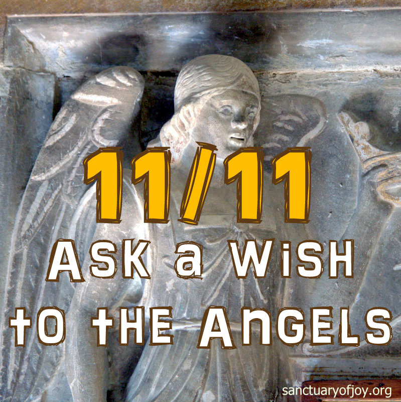 1111 - November 11th - Ask your wish to the Angels on Saint Martin's day