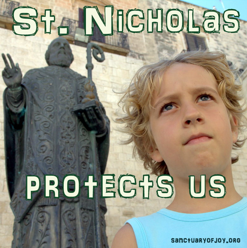 Saint Nicholas protects us