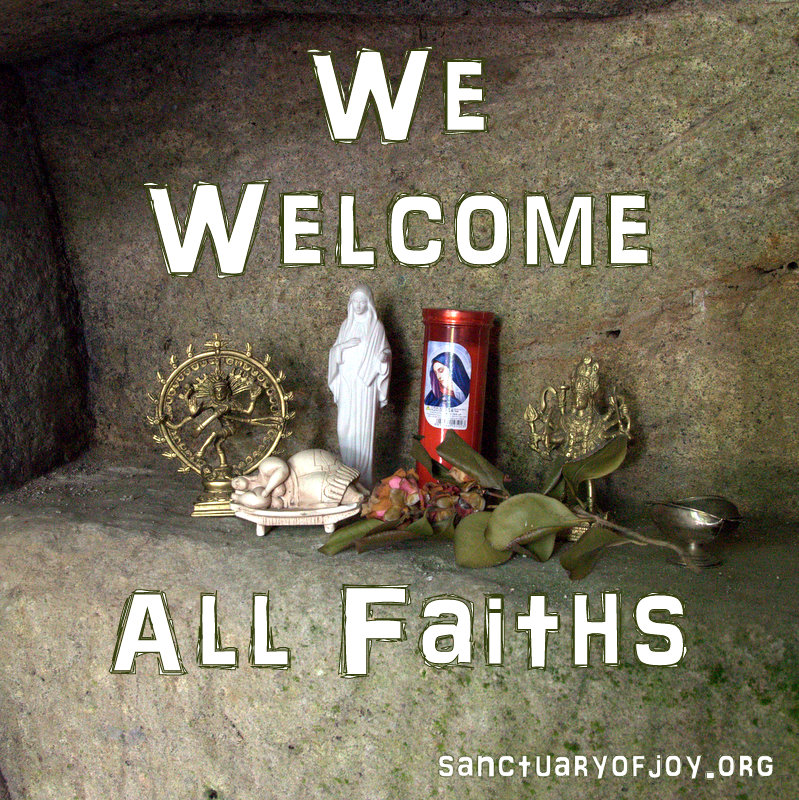 We welcome all Faiths