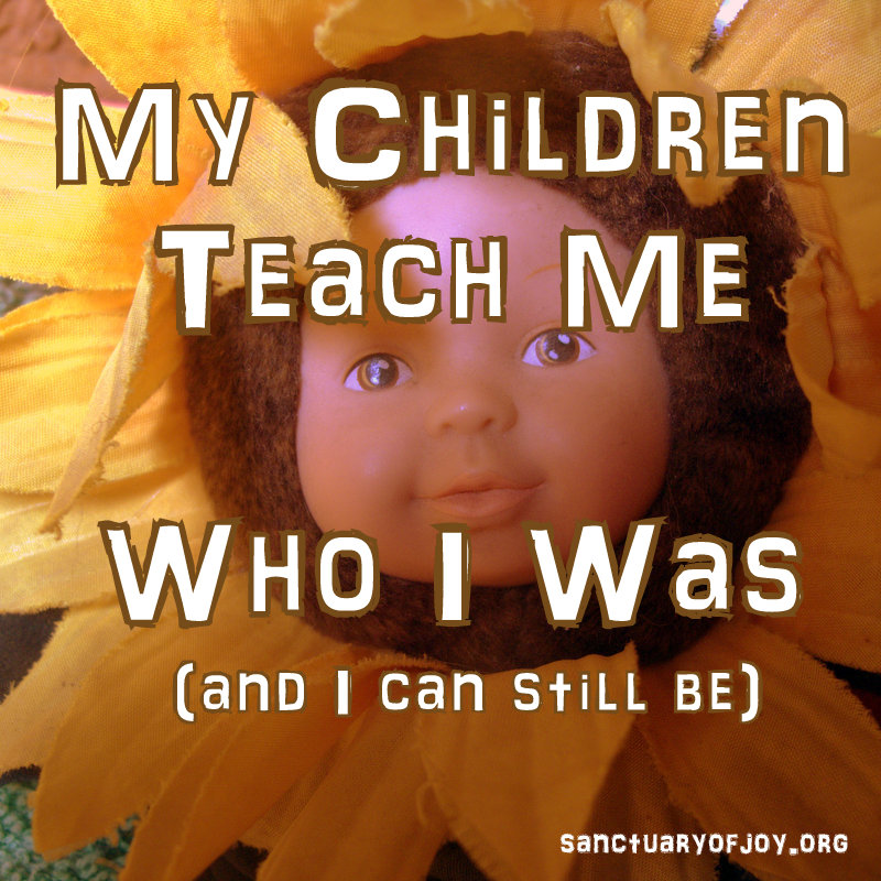 My Children Teach Me Who I Was