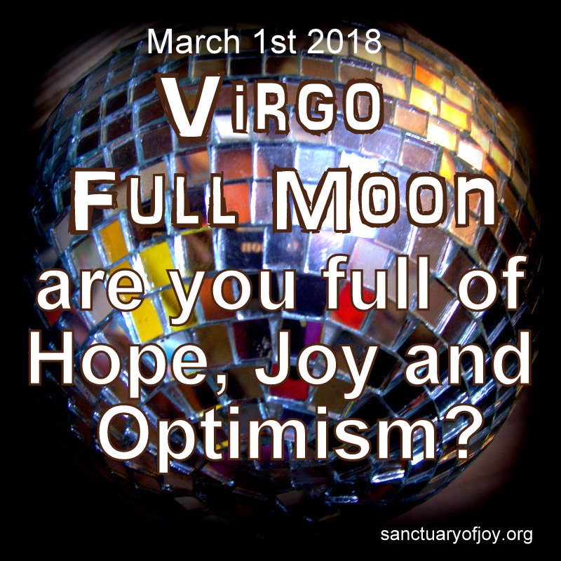 Virgo Full Moon March 1st 2018