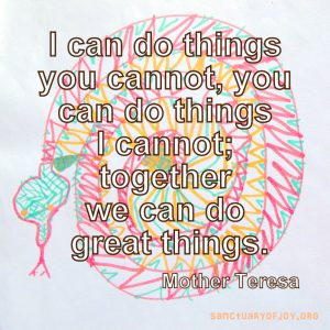 Together we can do great things