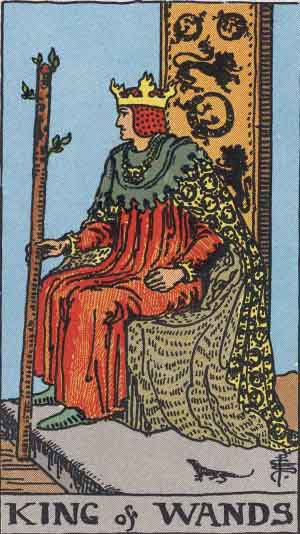 King of Wands / Fire / Clubs