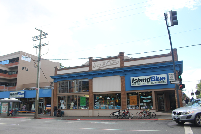 Shop in Victoria, British Columbia, Canada