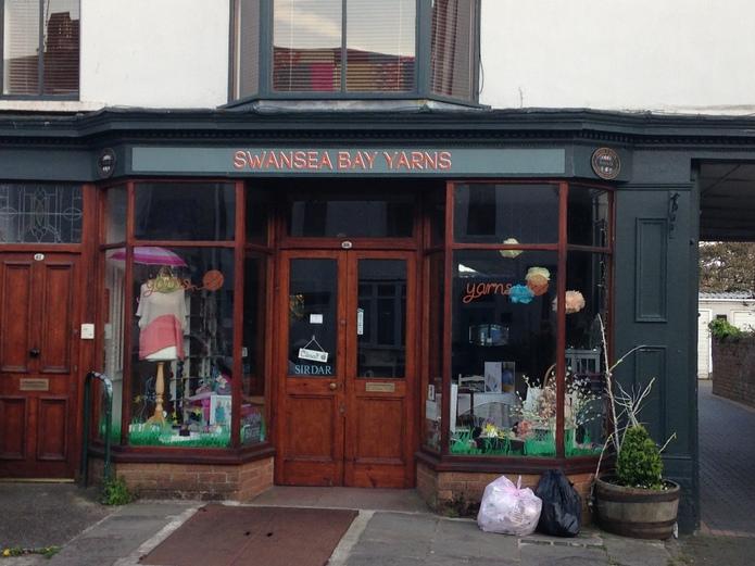 Shop in Swansea, Wales, United Kingdom