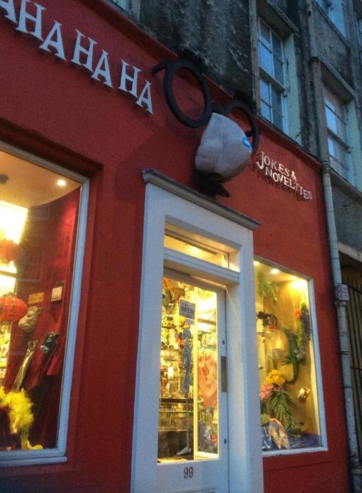 Shop in Edinburgh, Scotland, United Kingdom
