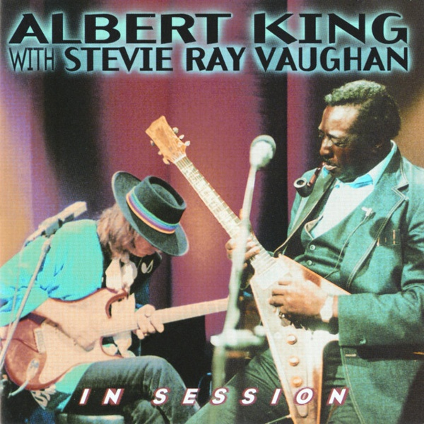 In Session by Albert King, Stevie Ray Vaughan album cover