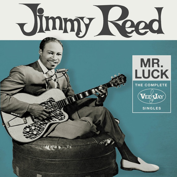 Mr. Luck: Complete Vee-Jay Singles by Jimmy Reed album cover