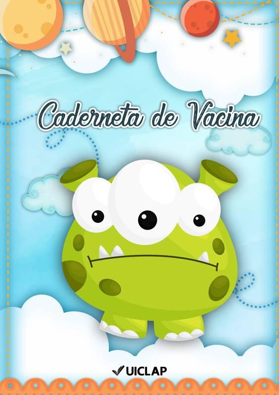 Cartão de Vacina para bebê