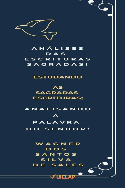 Análises das Escrituras Sagradas!